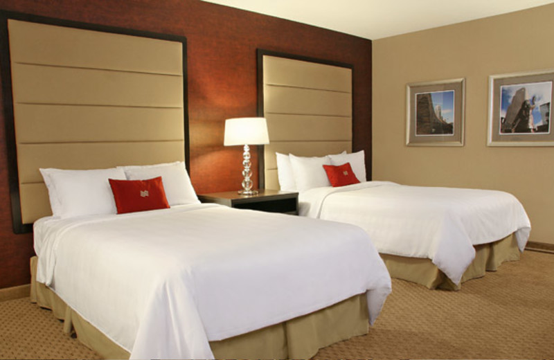 Guest Room at Crowne Plaza Minneapolis