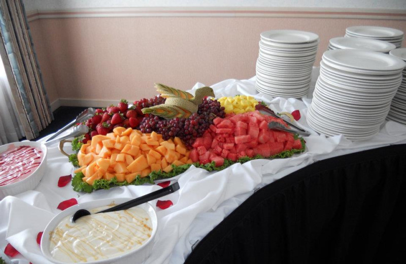 Special occasion buffet at Ocean View Resort.