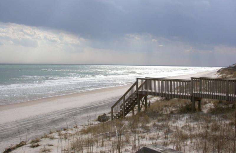 The beach at Island Real Estate. Inc.