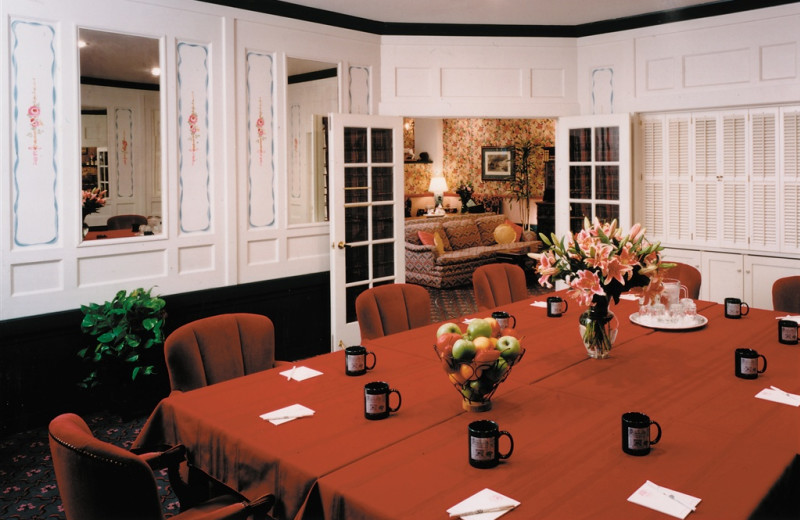 Conference room at White Swan Inn.
