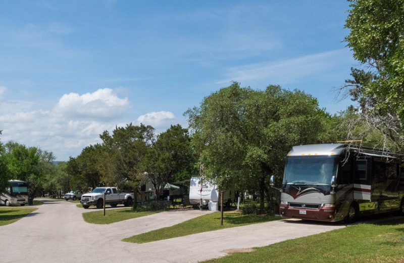Campground at Canyon of the Eagles.