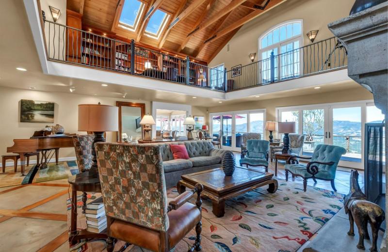 Rental great room at Woodfield Properties.