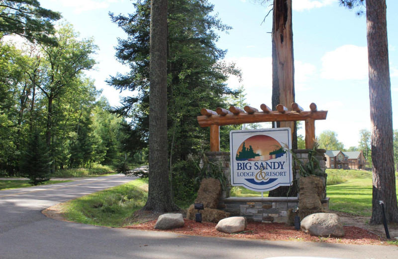 Welcome to Big Sandy Lodge & Resort.