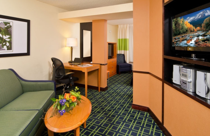 Guest Room at Fairfield Inn & Suites Bend Downtown