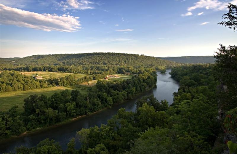 River view at River Ridge Inn.
