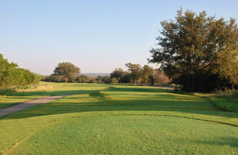 Golf course near Campa Pajama Cabin.