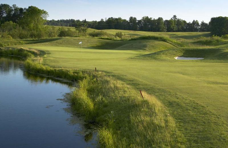 Golf course at Deerhurst Resort.