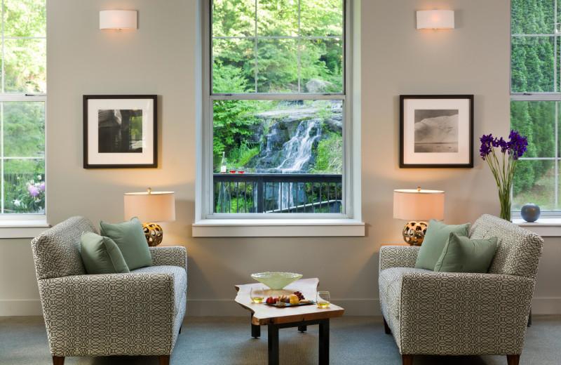 Living Area at Ledges Hotel