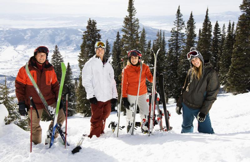 Ski near Centennial Lodge of Beaver Creek.