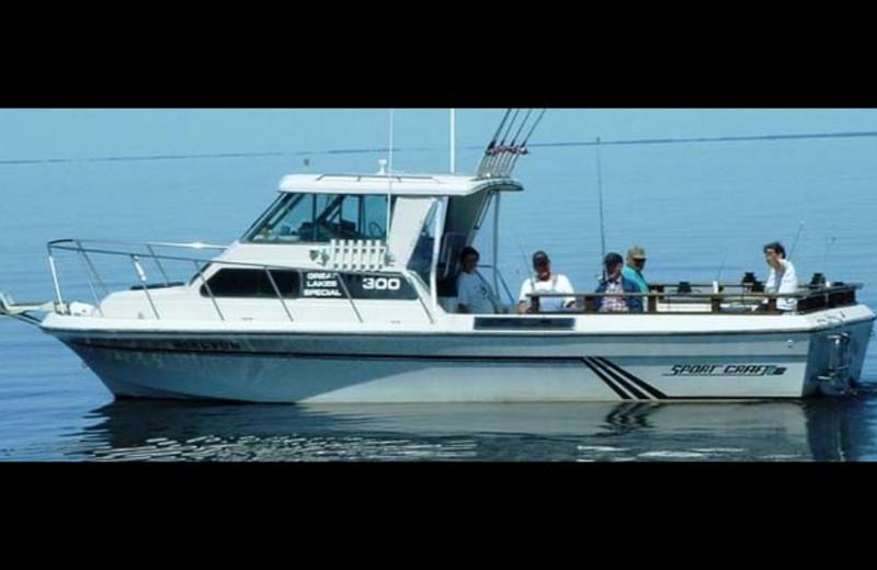 Fishing at Zippel Bay Resort.