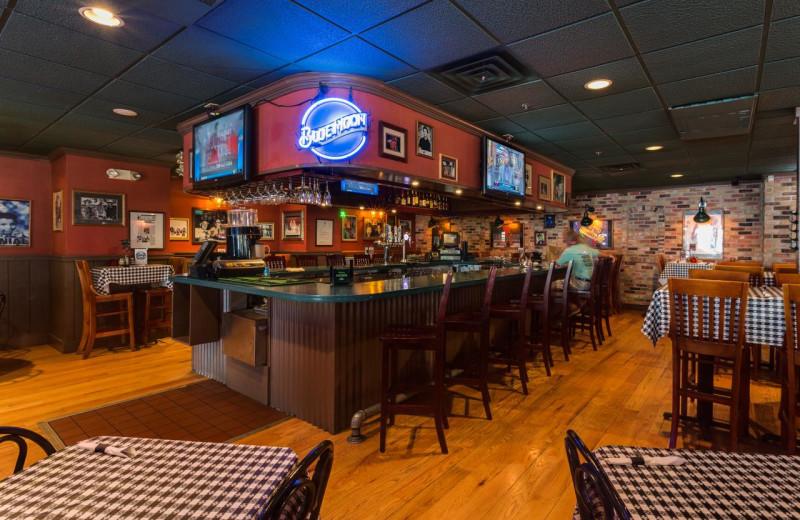 Bar at Harbor Shores on Lake Geneva.