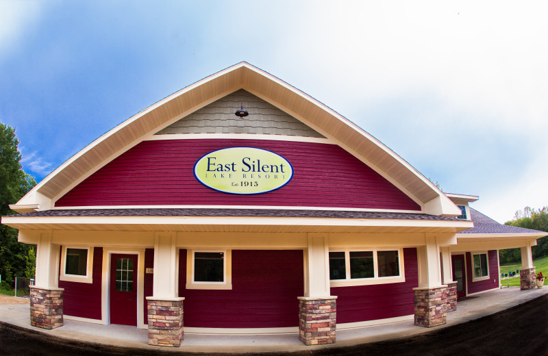 Exterior view of East Silent Lake Resort.