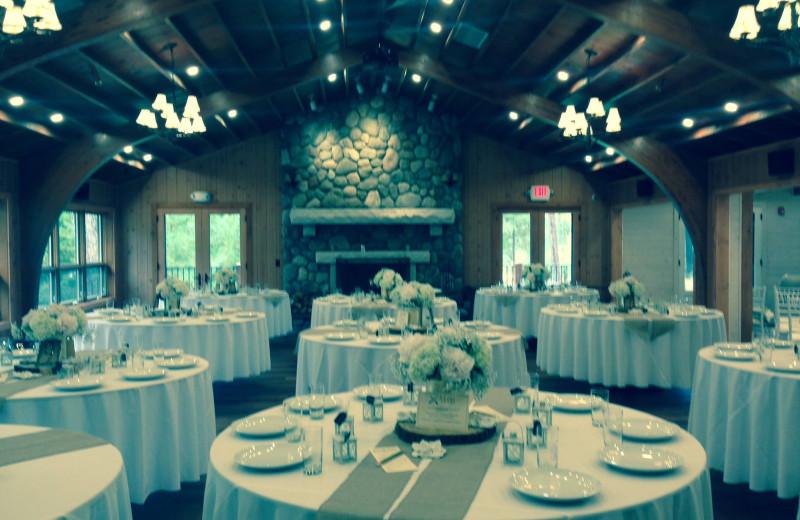 Conference room at Chippewa Retreat Resort.