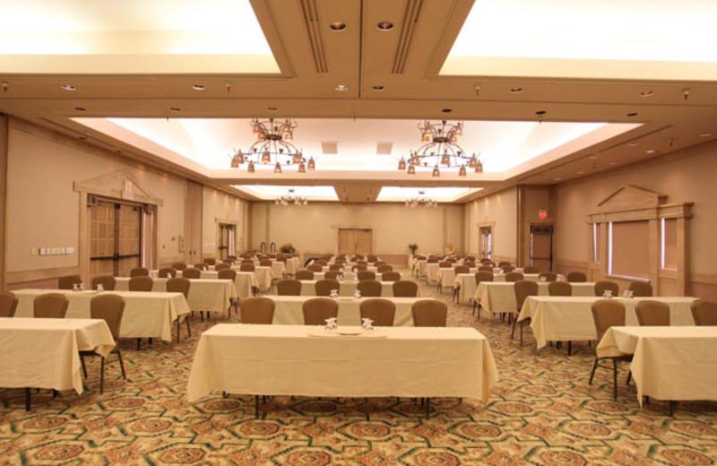 Meeting space at Rancho De Los Caballeros.