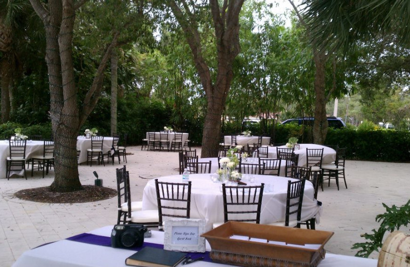 Wedding reception at Inn at Pelican Bay.