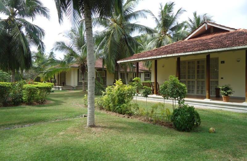 Exterior view of Tamarind Tree hotel.