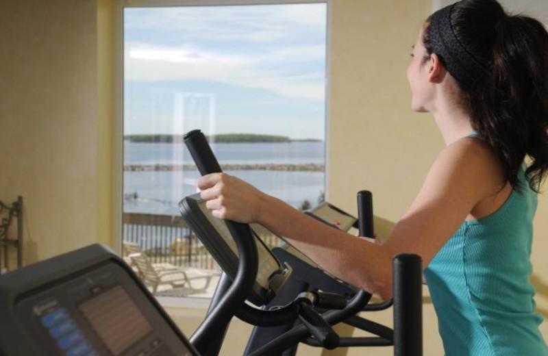 Fitness Room at Atlantica Hotel