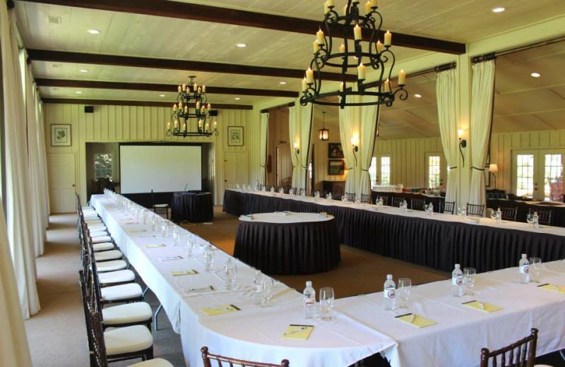 Meeting space at High Hampton Inn