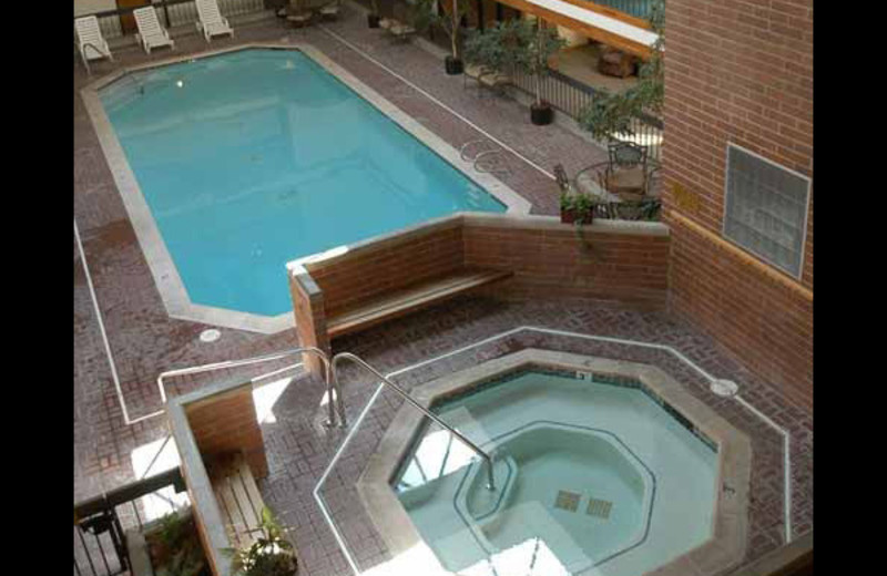 Indoor pool at Park Plaza.
