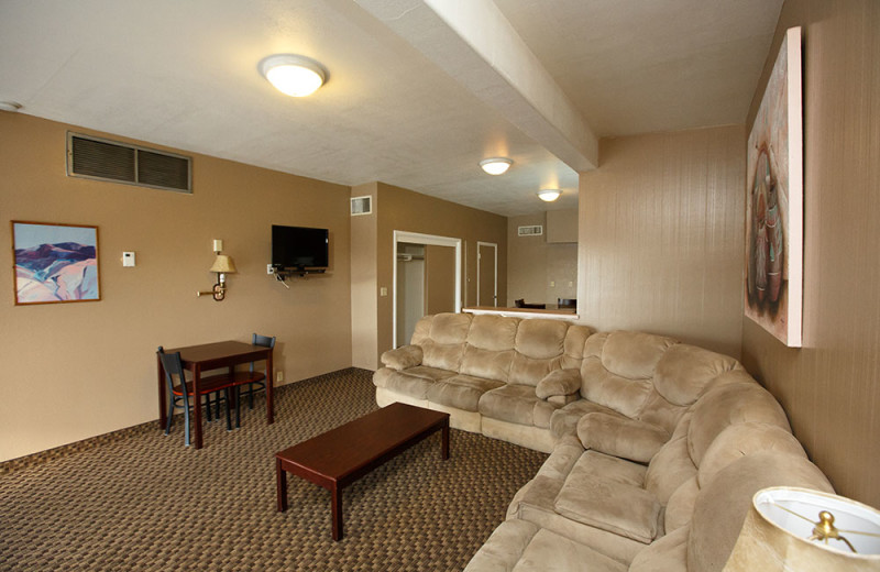 Guest room at Havasu Springs Resort.