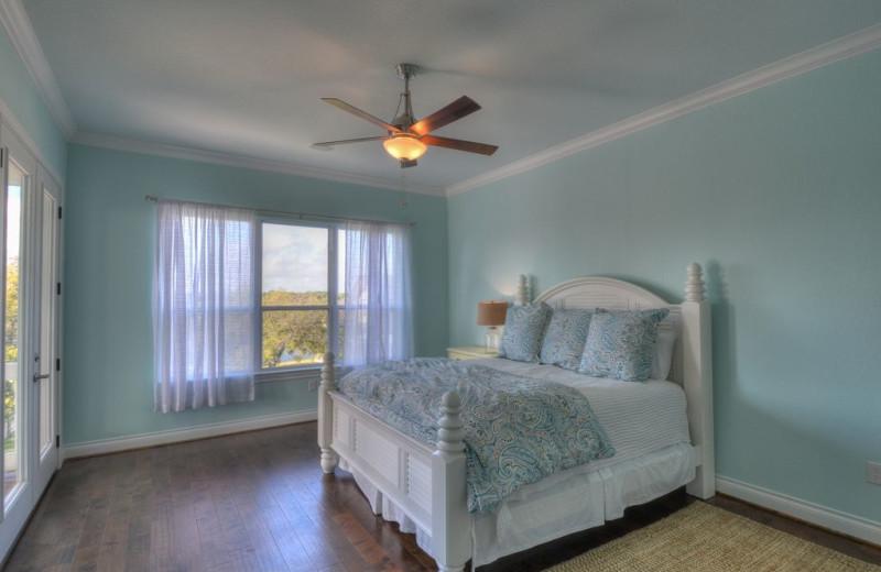 Bedroom at Lake Haus.