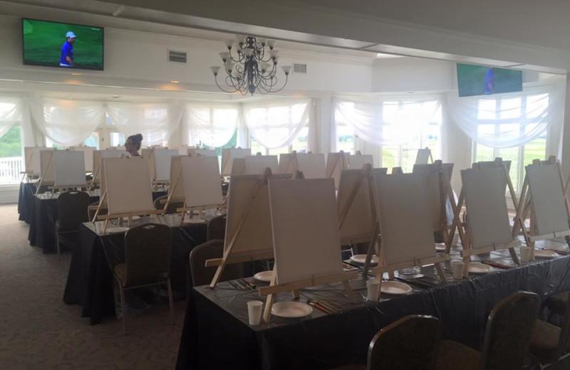 Painting at Sawmill Creek Golf Resort & Spa.