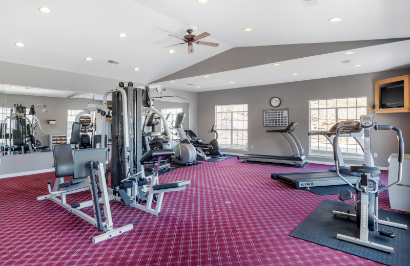 Gym at Thousand Hills Vacations.
