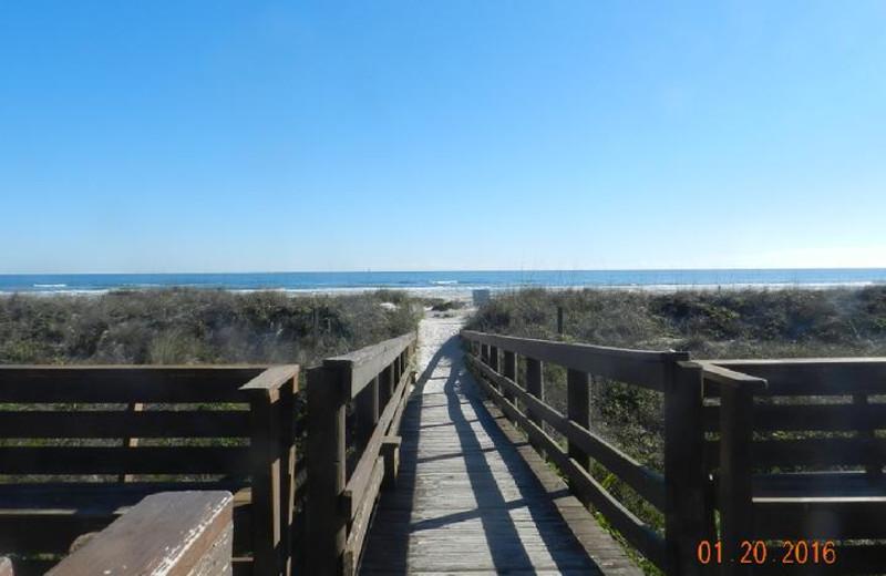 Boardwalk to Ocean/Beach