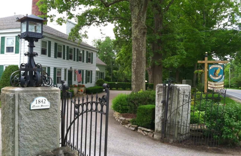Exterior view of The Inn at Ormsby Hill.