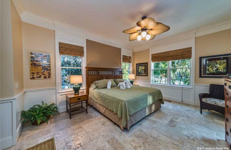 Rental bedroom at Vacation Rental Pros - Hilton Head Island.