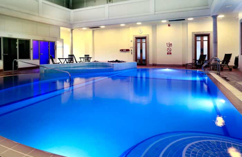 Indoor pool at Botley Park Hotel and Country Club.