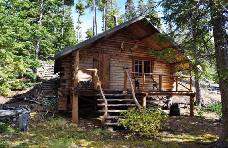 Creekside Cabin at Crazy Bear Wilderness Lodge