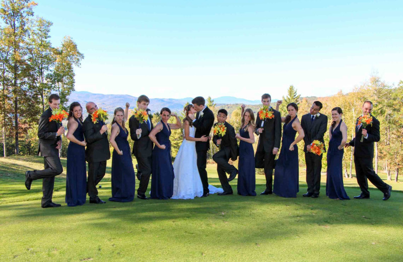 Wedding at Owl's Nest Resort & Golf Club.