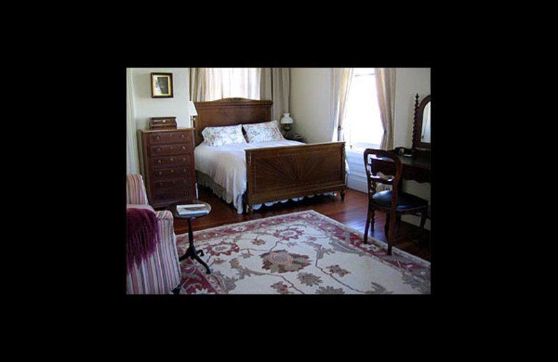 Guest room at Parsonage.