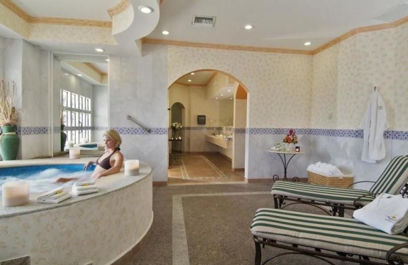 Spa at Gran Porto Real Resort and Spa Playacar.