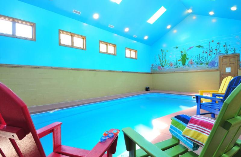 Rental pool at Taylor-Made Deep Creek Vacations.