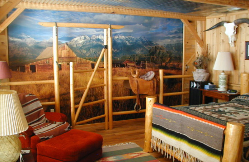 Room interior at K3 Guest Ranch.
