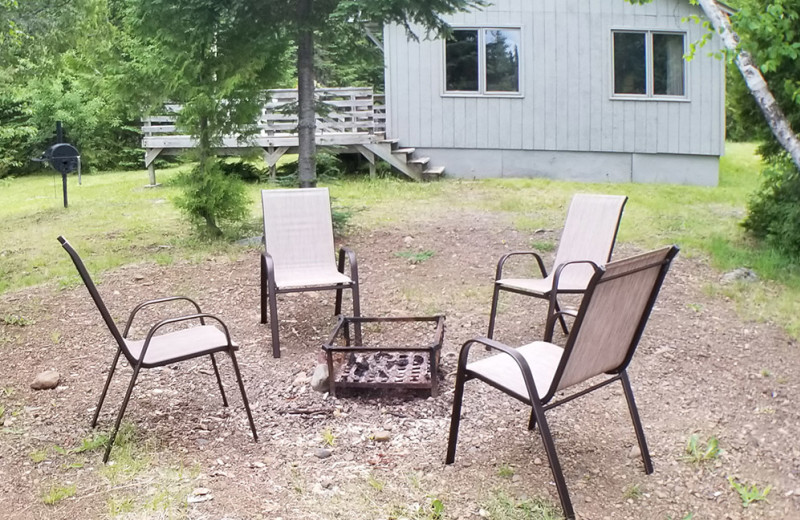 Bonfire at Nor'Wester Lodge