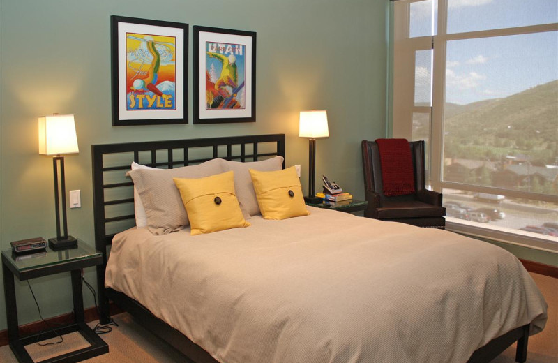 Guest room at The Lowell.