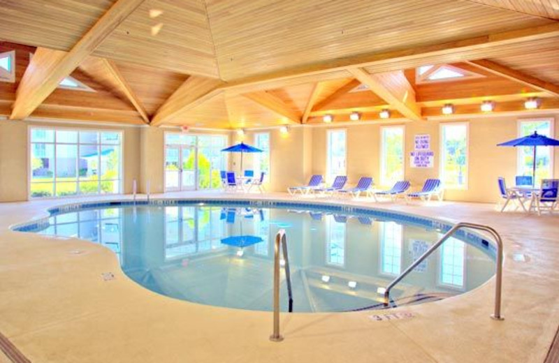 Indoor Pool view at Bluewater Resort