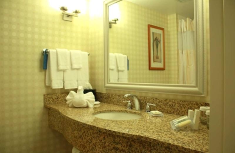 Bathroom at Hilton Garden Inn Myrtle Beach