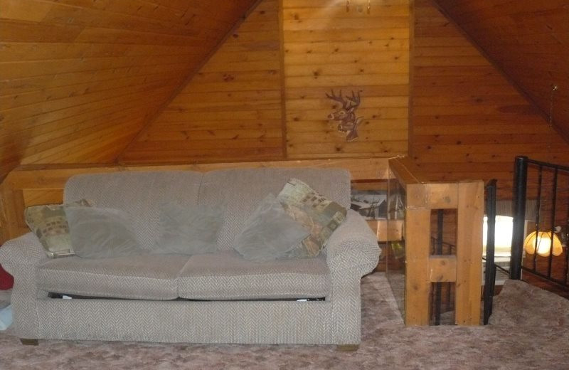 Rental living room at Sand County Service Company - Little Ponderosa.