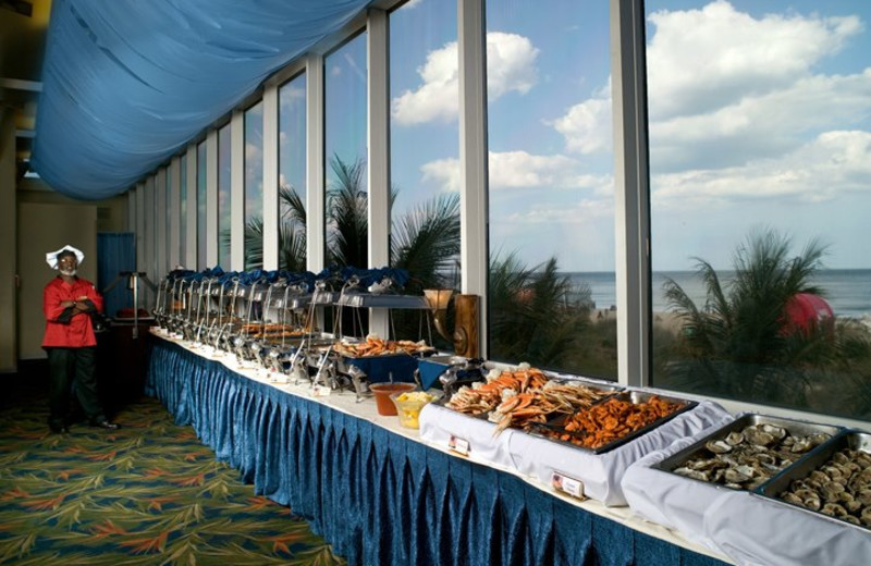 Buffet at Clarion Resort Fontainebleau Hotel.
