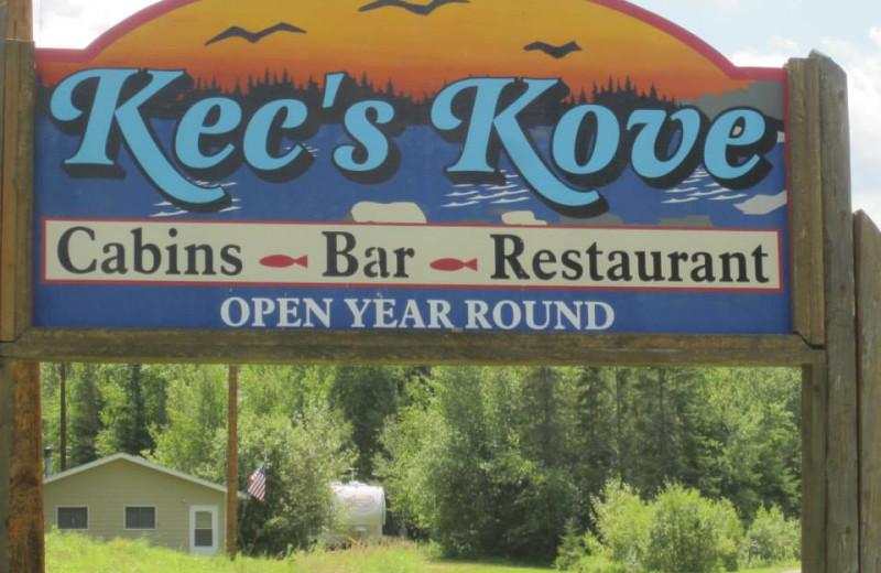 Welcome to Kec's Kove Resort.