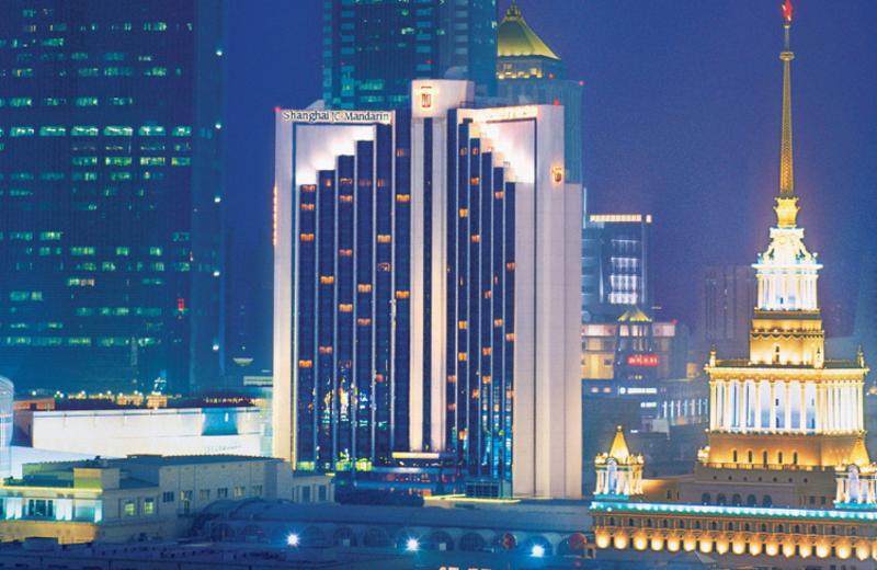 Exterior view of Shanghai JC Mandarin.