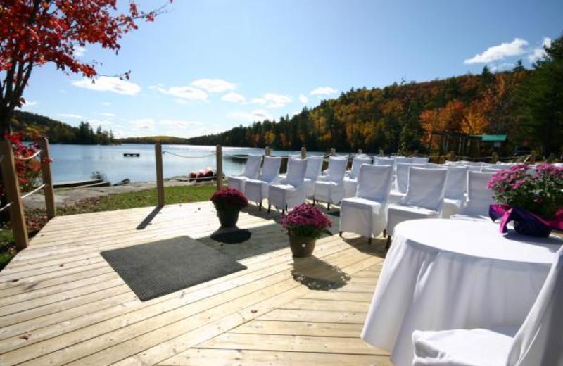 Weddings at Spectacle Lake Lodge