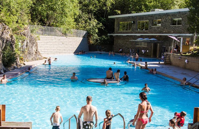 Springs near Bighorn Meadows Resort.