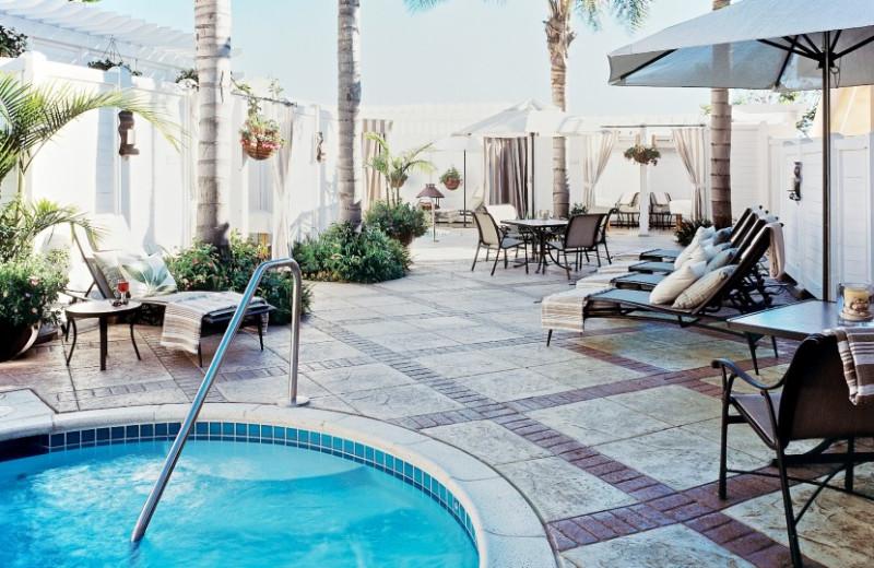 Jacuzzi at Loews Coronado Bay Resort.