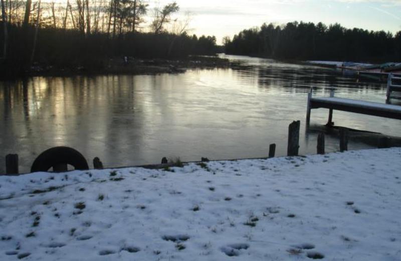 River view at Popp's Resort.