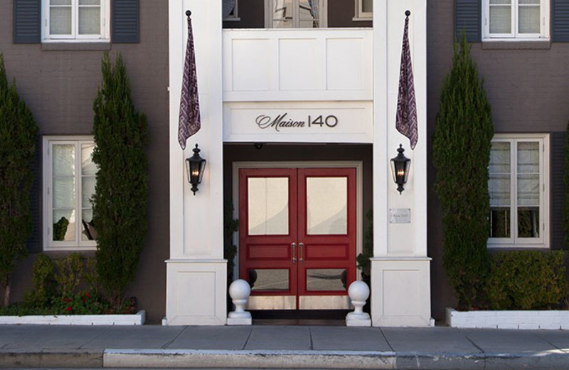 Exterior view of Maison 140 Beverly Hills.